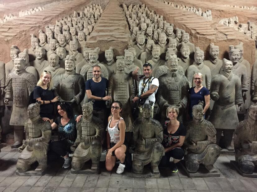 Xi'an Group Tour of Terracotta Warriors and Banpo Museum