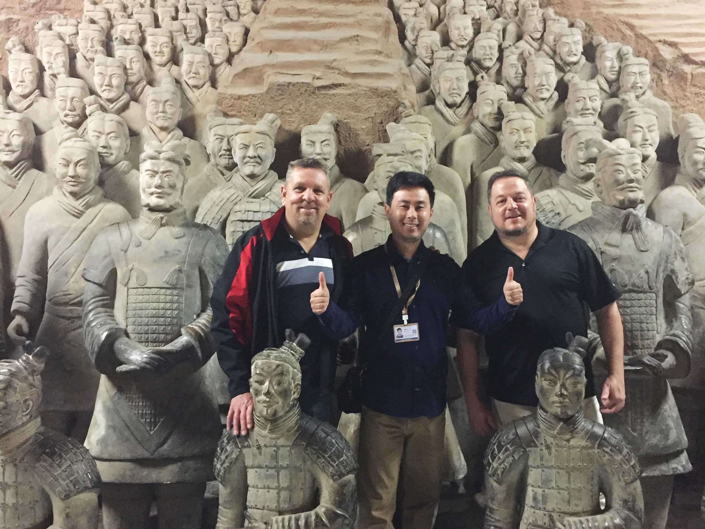 Xian Group Day Tour of Terracotta Warriors Discovery